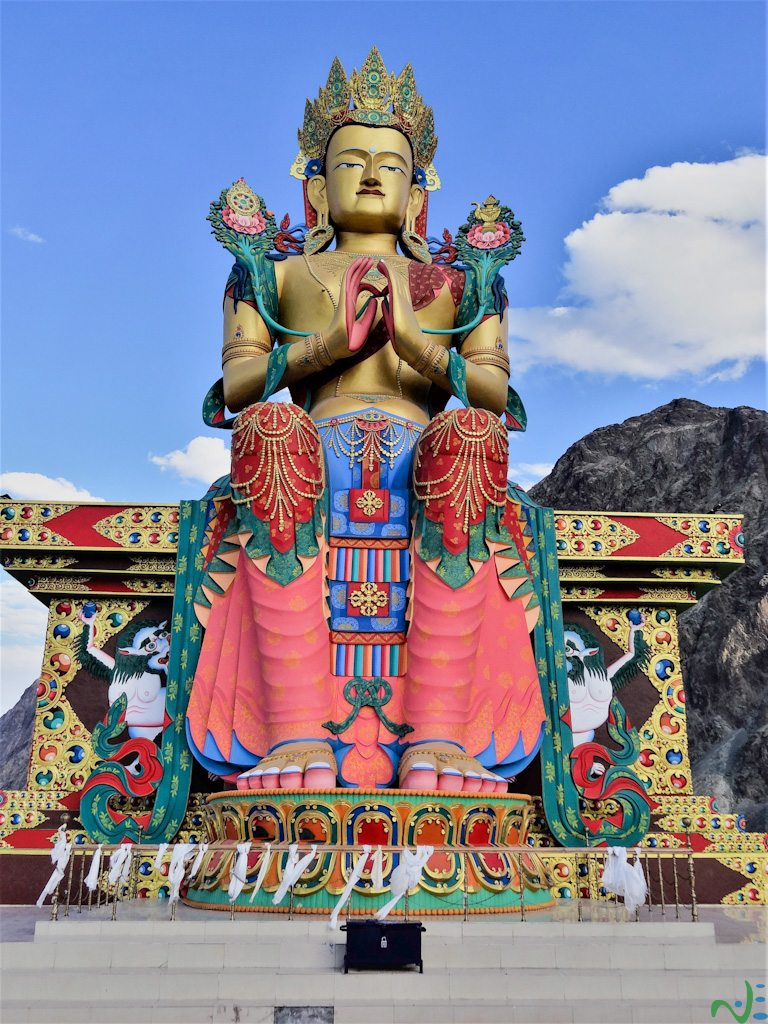 Diskit Monastery - One of the best places to visit in Nubra valley