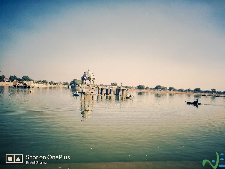 Gadi Sar Lake is a famous tourist destination to visit in jaisalmer