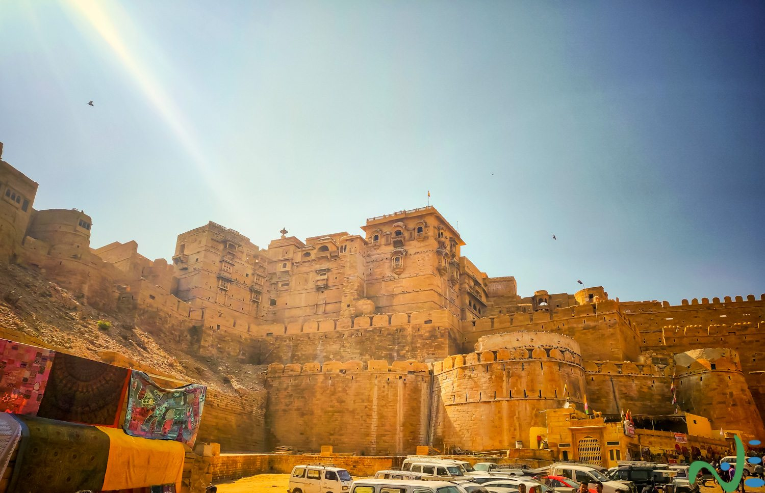Jaisalmer Fort is one of the most visited places in Jaisalmer, Rajasthan