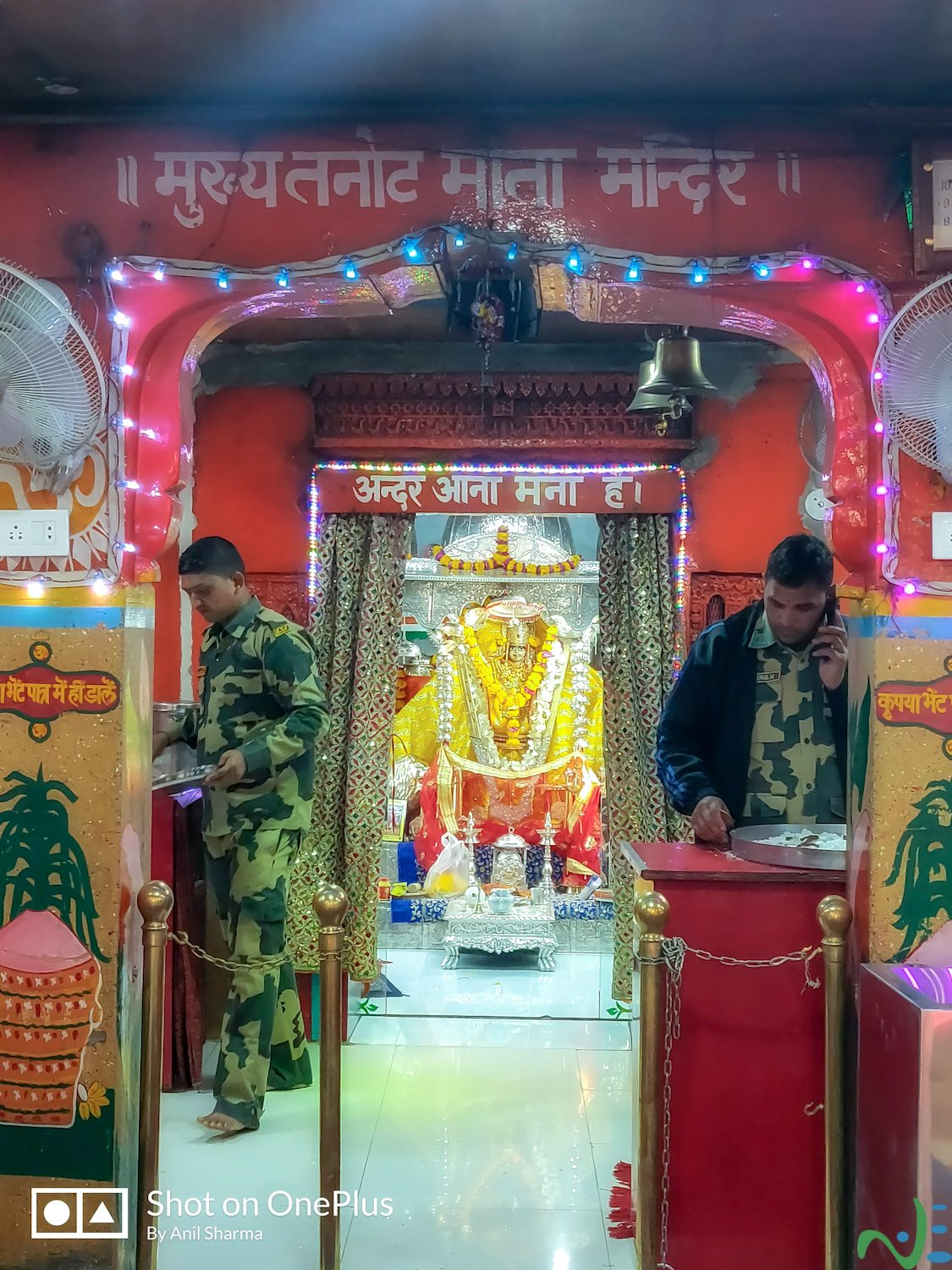 Tanot Mata Mandir is one of the places to visit in jaisalmer