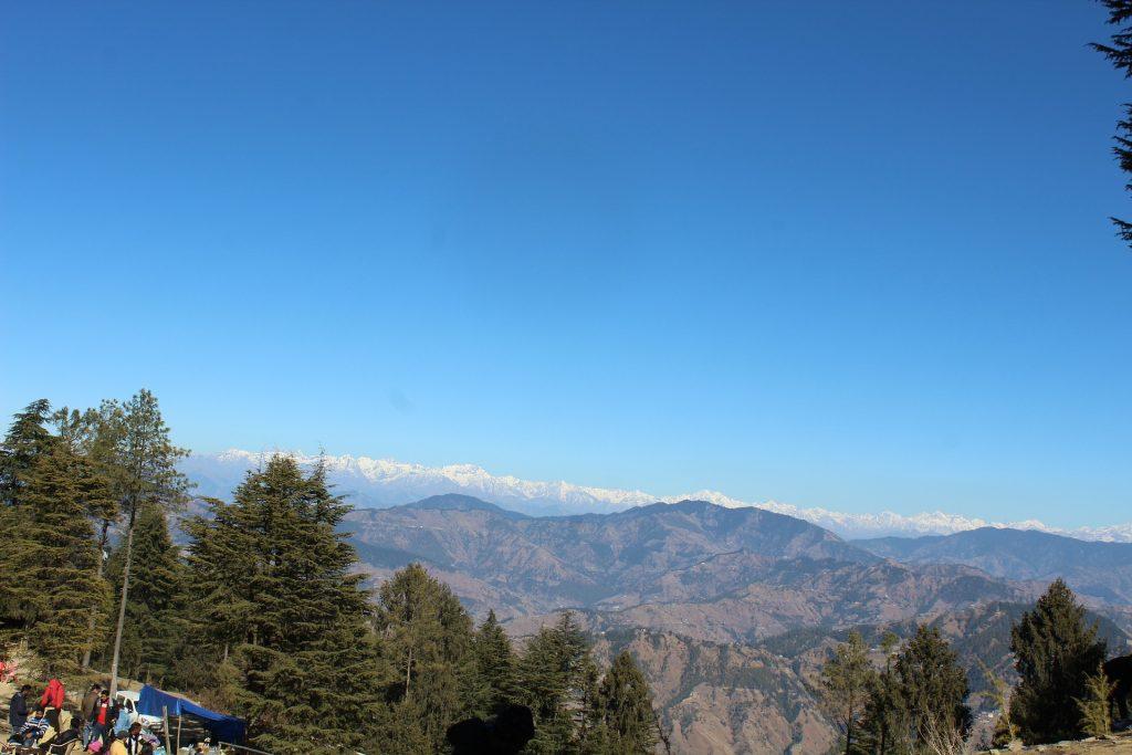 Scenic view of Kufri