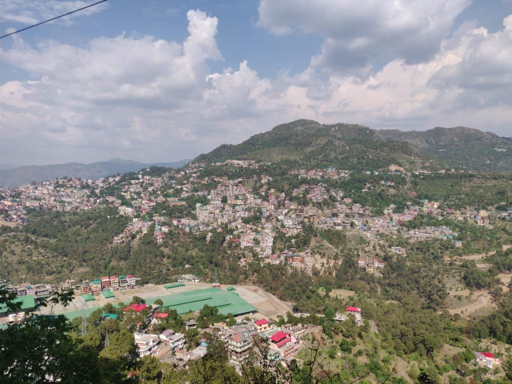 A scenic view of Chail