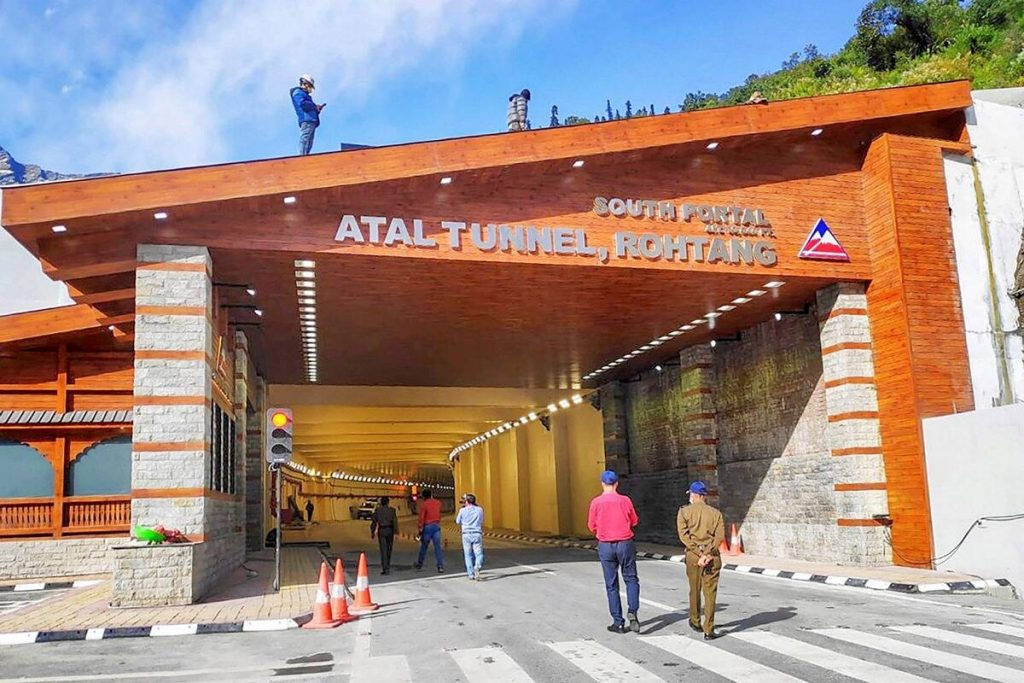 rohtang tunnel length