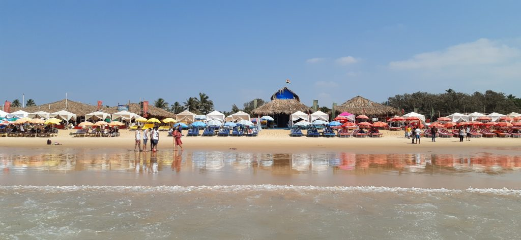 Tourist places in Goa - Calangute Beach